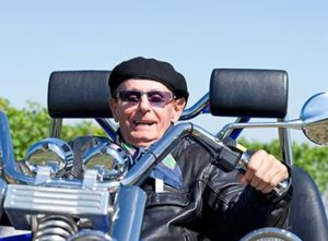 Happy Senior on Trike | Are Baby Boomers Taking Unnecessary Risks?